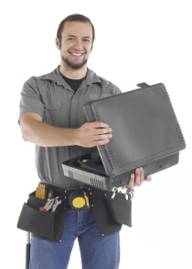 Picture of a radiator fitter